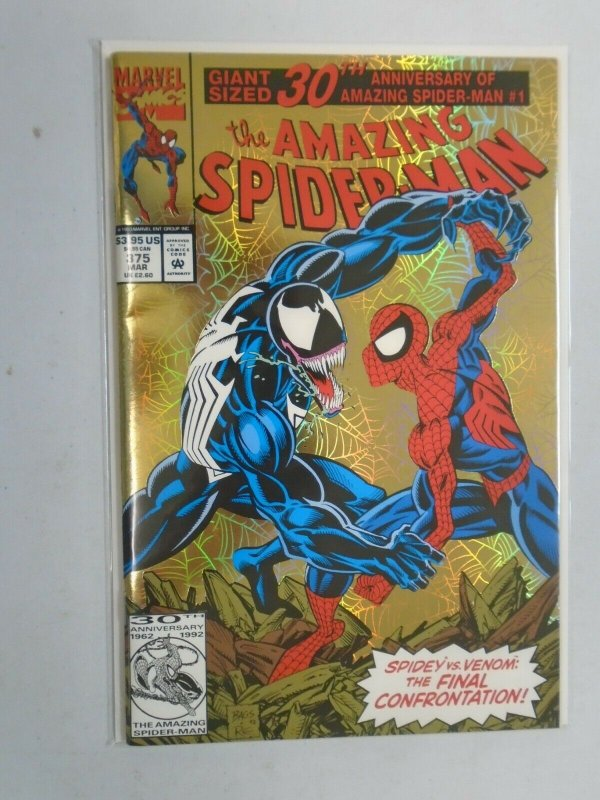 Amazing Spider-Man #375 30th Anniversary issue 8.0 VF (1993 1st Series)