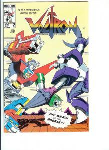 Voltron  #2 - Copper Age - 1985 (NM-)