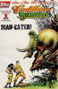 Cadillacs & Dinosaurs (Vol. 2) #4 Deluxe VF; Topps | save on shipping - details