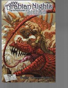 1001 Arabian Nights #3 (Zenescope, 2008)  Rich Bonk Cover
