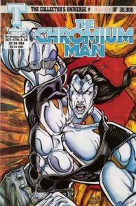 Chromium Man #1, NM + (Stock photo)