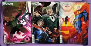 DC Future State SUPERMAN vs IMPERIOUS LEX #1 - 3 Variant Covers (DC, 2021)!