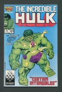 Incredible Hulk #323 /  9.4 NM  September 1986