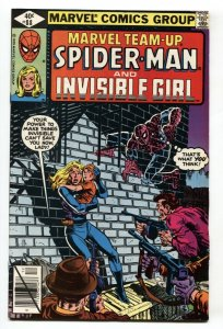 Marvel Team-up #88- SPIDER-MAN and INVISIBLE GIRL VF/NM