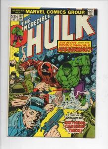 HULK #172, VF+, Juggernaut, Marvel, 1968 1974, Incredible, more in store