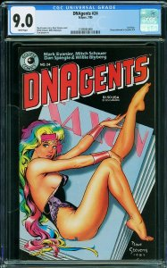 DNAGENTS #24 (CGC 9.8) Classic Dave Stevens Cover