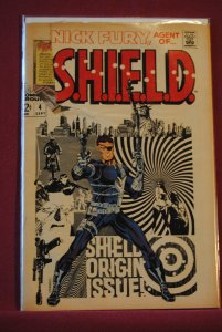 Nick Fury, Agent of SHIELD #4 (1968)