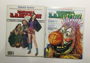 National Lampoon July And August 1978 Pair Very Fine Vf 8.0 Near Mint