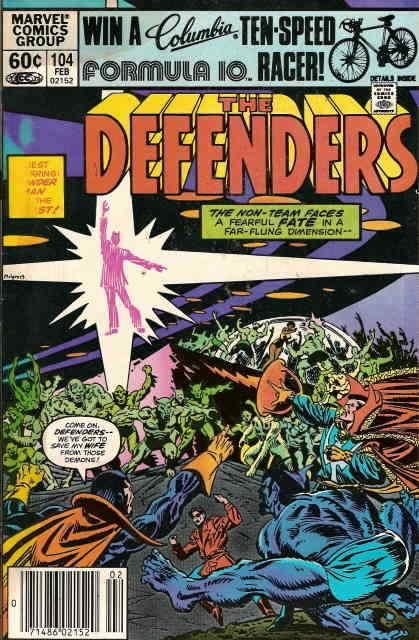 Defenders, The #104 FN; Marvel | save on shipping - details inside