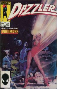 Marvel DAZZLER (1981 Series) #32 VF