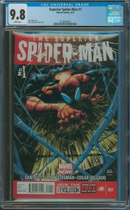 Surperior Spider-Man #1 CGC Graded 9.8