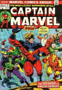Captain Marvel #31 (ungraded) stock photo / SMC