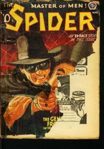 SPIDER 1942 MAR-RARE HERO PULP-BARGAIN COPY FR