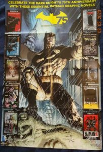 75 YEARS OF BATMAN  Promo Poster, 22 x 34, 2014, DC Unused more in our store 546