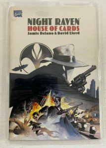 Night Raven House of Cards #1 Marvel United Kingdom 6.0 FN Reprint (1992) GN