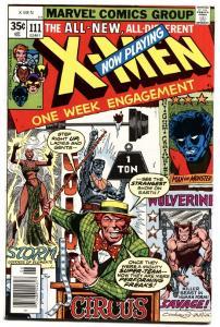X-MEN #111 1979-MARVEL-Nightcrawler-Storm-Beast NM-