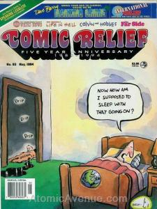Comic Relief (magazine) #63 FN; Page One | save on shipping - details inside