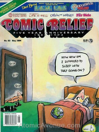 Comic Relief (magazine) #63 FN; Page One   save on shipping - details inside