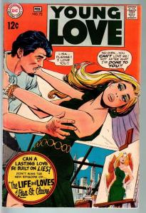 Young Love #72-FN--LISA ST. CLAIRE-DC Romance FN-