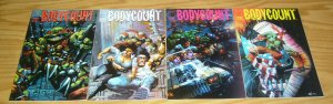 Bodycount #1-4 VF/NM complete series TMNT simon bisley & kevin eastman RAPHAEL