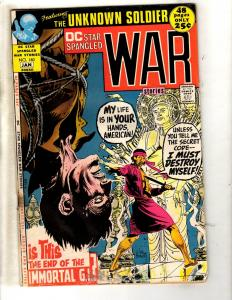 DC Star Spangled War Stories # 160 GD Comic Book Joe Kubert Unknown Soldier JL7