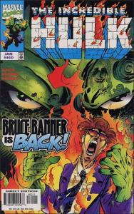 Marvel THE INCREDIBLE HULK (1968 Series) #460 VF