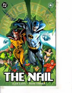 Lot Of 2 DC Comic Books New Titans Annual #9 and JLA The Nail #3 ON13