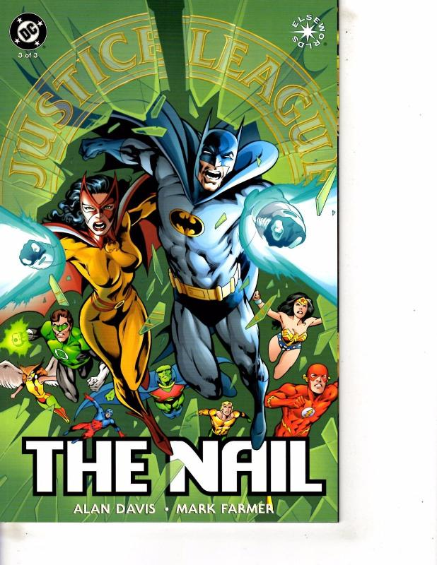 Lot Of 2 DC Comic Books New Titans Annual #9 and JLA The Nail #3 ...