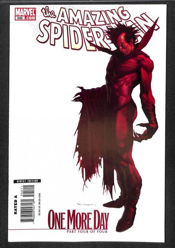 amazing spider-man #545  Marvel Comics Spiderman