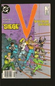 DC Comics Siege V No 12 January 1986