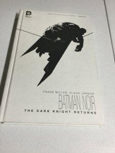 Batman Noir The Dark Knight Returns Oversized Vf Very Fine Oversized Hardcover