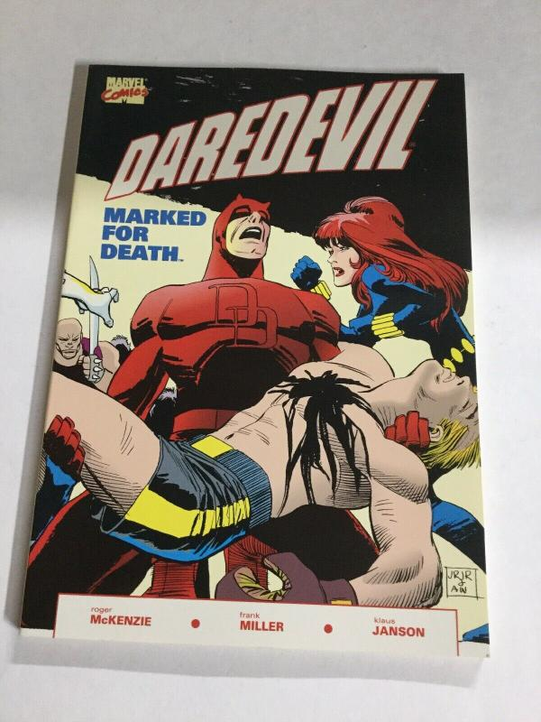 Daredevil Marked For Death Nm Near Mint  Marvel Comics SC TPB