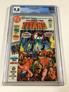 New Teen Titans 21 Cgc 9.8 1st Brother Blood And Night Force Preview Dc Comics