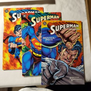 Superman Doomsday Hunter Prey 1 Near Mint Cover by Jurgens and Breeding