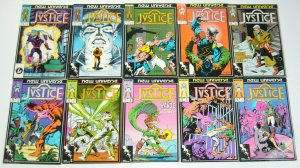 Justice #1-32 VF/NM complete series - new universe - peter david set lot