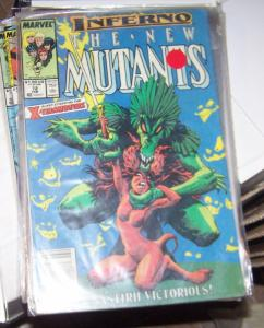 NEW MUTANTS  # 72  1988   INFERNO MAGIK LIMBO DEMONS XMEN NASTIRH