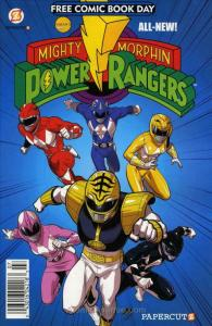 Mighty Morphin Power Rangers (4th Series) FCBD #2014 VF/NM; Papercutz | save on