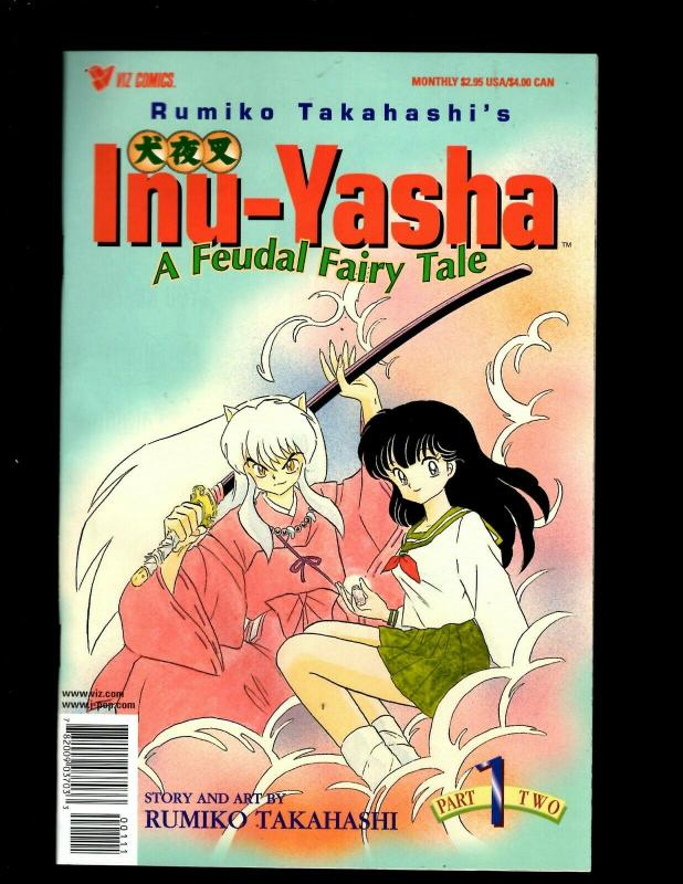 5 Comic Books Inu-Yasha #13 14 15, Inu-Yasha Part 2 #1 2 JF20