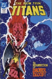 New Teen Titans (1984 series) #28, VF+ (Stock photo)