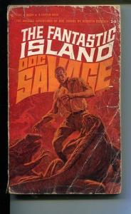 DOC SAVAGE-THE FANTSTIC ISLAND-#14-ROBESON-G- JAMES BAMA COVER G