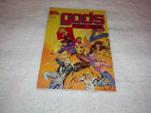 Gods for Hire Comic Book #1, December 1986