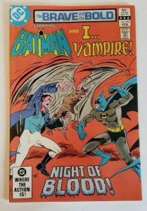 Brave and the Bold #195 (1983) NM- 9.2 Batman & I..Vampire, Night of Blood!