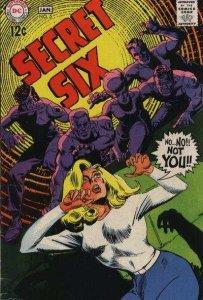 Secret Six (1968 series) #5, Fine+ (Stock photo)