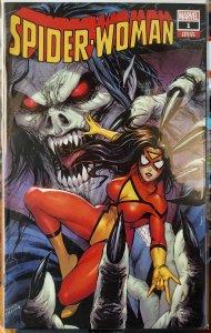 Spider-Woman #1 NM TYLER KIRKHAM MORBIUS CK VARIANT