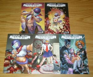 Absolution: Rubicon #1-5 VF/NM complete series - christos gage - happy kitty set
