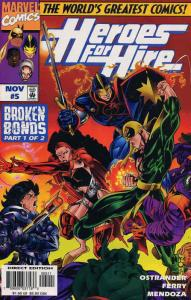 Heroes for Hire #5 VF/NM; Marvel | save on shipping - details inside