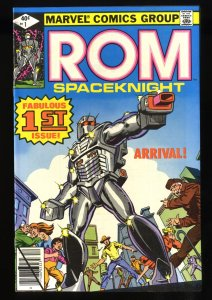 Rom #1 NM- 9.2 1st Issue!