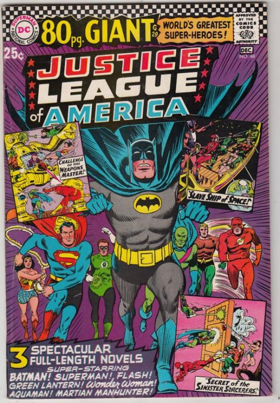 Justice League of America #48 (Dec-66) NM- High-Grade Justice League of Ameri...