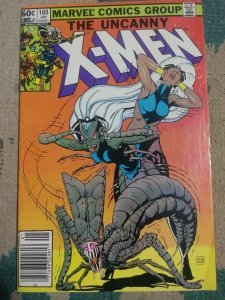 UNCANNY X-MEN # 165 1983 MARVEL BROOD WOLVERINE STORM CLAREMONT