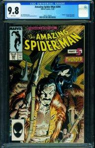 AMAZING SPIDER-MAN #294 CGC 9.8 Death of KRAVEN-1987-2021118016